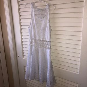 Xs White dress from Delia's